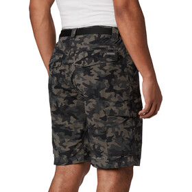 Columbia Silver Ridge Printed Cargo Shorts Men black camo
